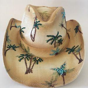 Peter Grimm palm Tree Cowboy Hat